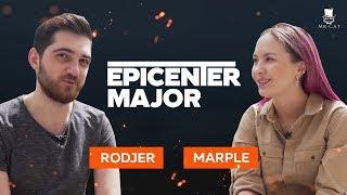 Интервью с RodjER после первого дня плей-офф | EPICENTER Major 2019