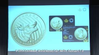 The Royal Canadian Mint in 2014. VIDEO: 10:47.