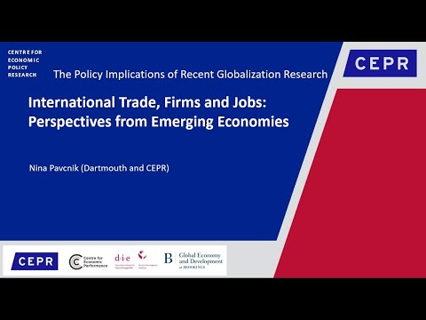 International Trade, Firms and Jobs: Perspectives from Emerging Economies