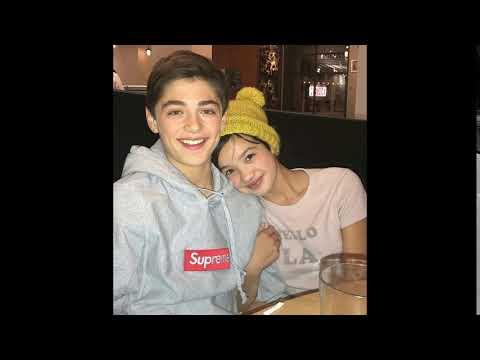 Asher Angel, Peyton Elizabeth Lee cute together on a date / 11 October 2017