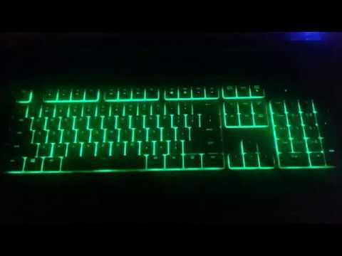 Razer Ornata lighting effects