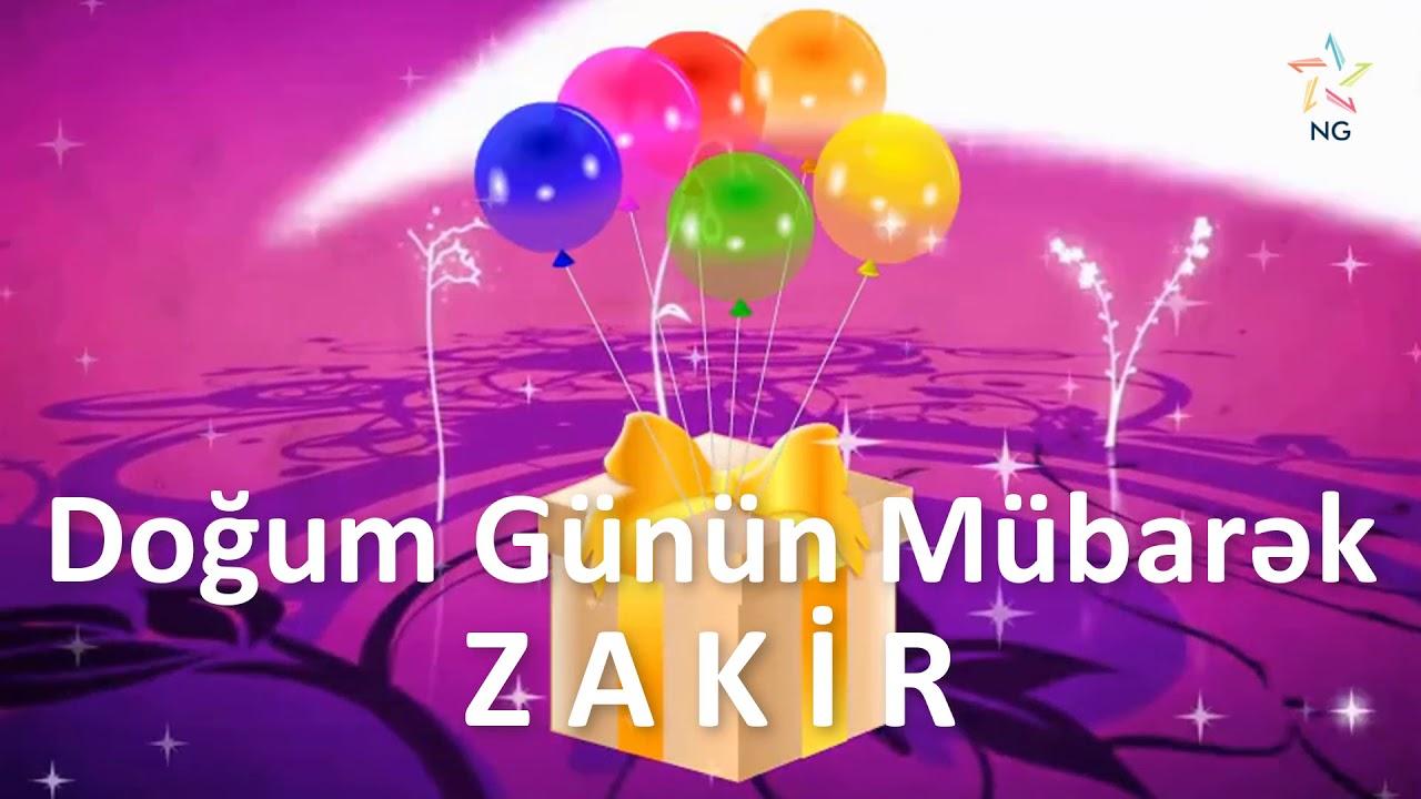 Dogum Gunu Videosu Zakir Youtube
