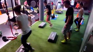 Cross functional training by the place