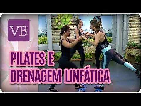 Treino de Pilates Que Promove Drenagem Linfática - Você Bonita (19/03/18)