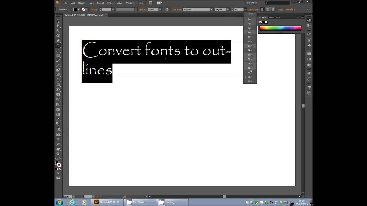 how to change language of illustrator cs6