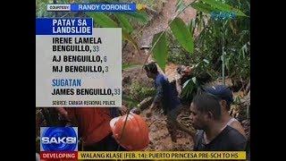Saksi: Hindi bababa sa 5, patay sa paghagupit ng Bagyong Basyang