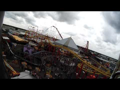 The Beast, Mondial Top Scan 5 Minute Ride Cycle POV Video, Fantasy Island, Skegness