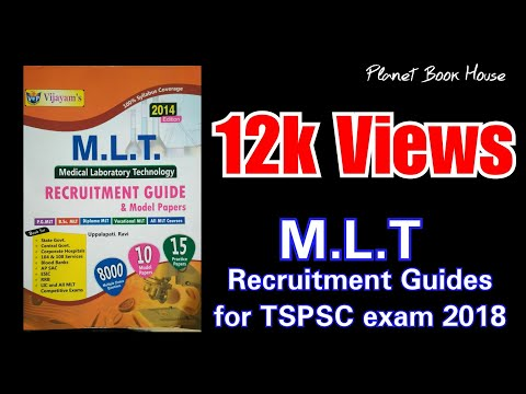 Tspsc Mlt recruitment guide for jobs || at Planet Book House