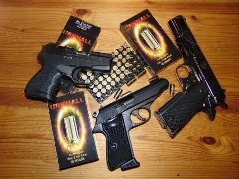 Schreckschuss Munition URKNALL Kal. 9mm PAK