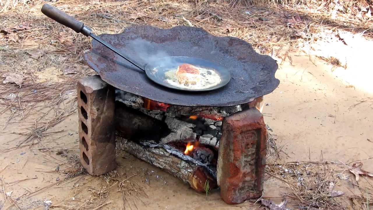 Camp Fire Grill And Portable Gas Stove Youtube