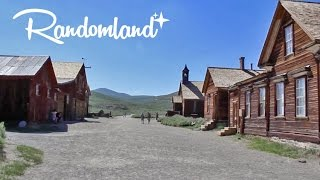 Biggest Abandoned Town in California - The Ghost Town of Bodie! - Random land!