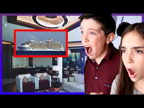 LUXURY SUITE TOUR ON A BOAT!!