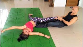 Yoga Stretch Massage, part 5