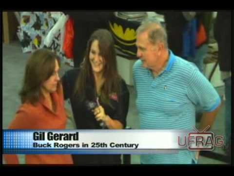 Gil Gerard & Erin Gray @ Big Apple Con UFragTV