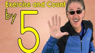 Count by 5 | Exercise and Count By 5 | Count to 100 | Counting Songs | Jack Hartmann