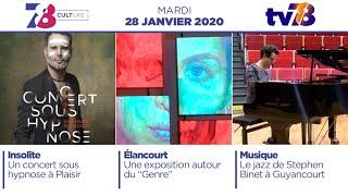 7/8 Culture. Emission du mardi 28 janvier 2020