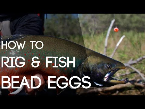 How To Rig & Fish Bead Eggs For Trout