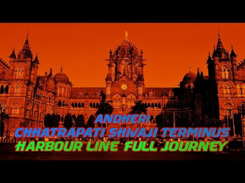 40 Minutes: Andheri to CST | Harbour Line Full Journey | First on Youtube! | HD 60fps