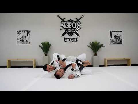 Variation of The Bow And Arrow Choke from the Back Control | Bruno Frazatto