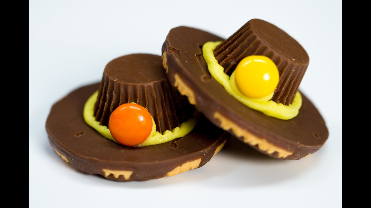 How To Make Delicious Chocolate Pilgrim Hats For