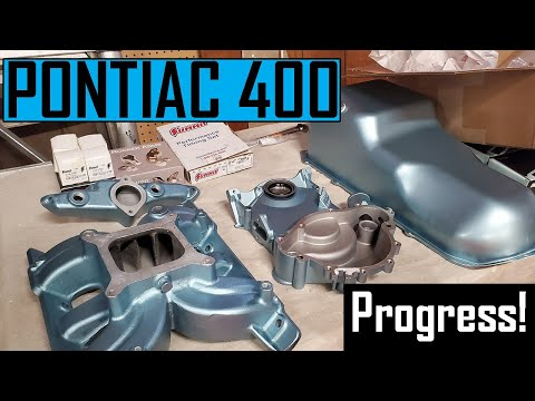 How to Install a  Pontiac 400 Dip Stick Tube and Timing Set Assembly –  1967 Pontiac GTO