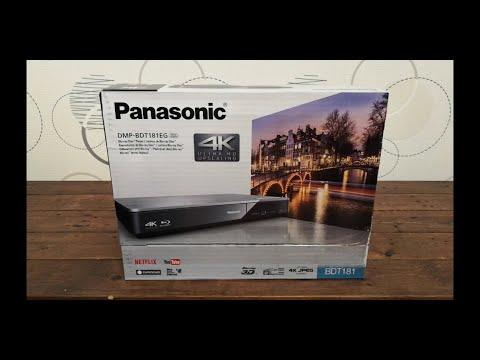 Panasonic DMP-BDT181EG Blu-ray Lejátszó