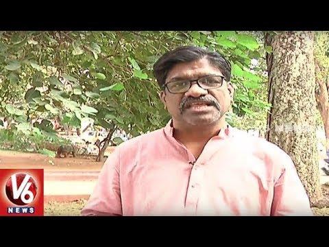 Face To Face Interview With Author Sangishetty Srinivas Over World Telugu Conference | V6 News