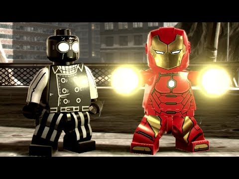 LEGO Marvel Super Heroes 2 - Manhattan Noir 100% Guide (All Collectibles)