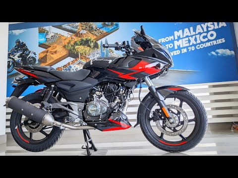 Bajaj Pulsar 220F BS6 FI 2020!! Black-Red | What's New? Price | Detailed Review