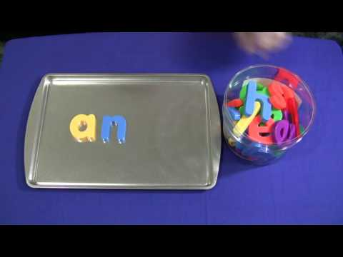 magnetic letter words youtube