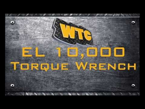 WTC Machinery, LLC - EL10000 All Electric Torque Wrench
