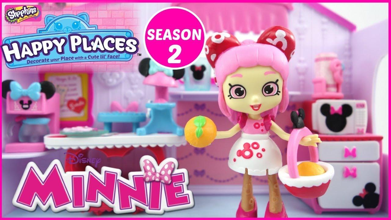 DISNEY Shopkins Happy Places Season 2 Minnie Mouse ...