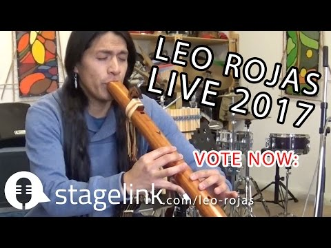 Leo Rojas LIVE 2017 - Voting by Stagelink.com