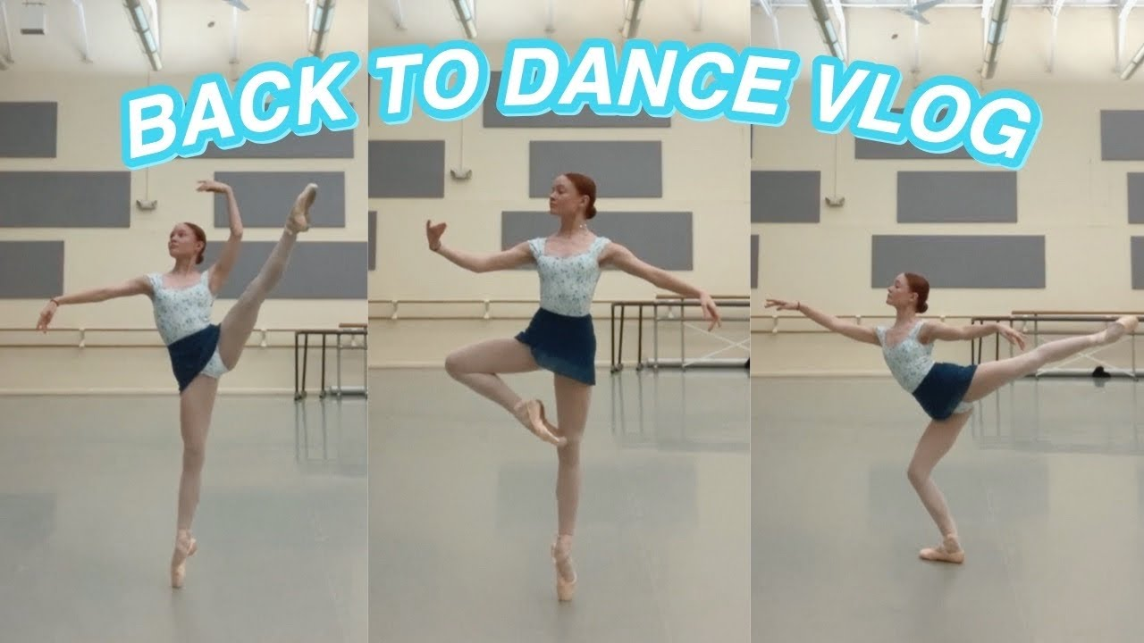 Back To Dance Vlog Ballet Classes Pointe Shoes Recovery Youtube