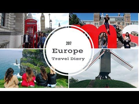 Mini Europe Trip Travel Diary | Amsterdam, Bruges, Berne, Dublin & London