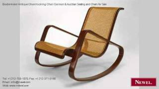 Biedermeier Antique Chair/rocking Chair German & Austrian