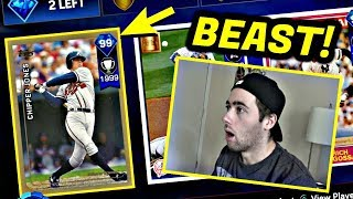 99 CHIPPER JONES IS ON THE SQUAD!! MLB THE SHOW 17 BATTLE ROYALE