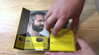 Jabra Eclipse Bluetooth Headset With Charging Case Unboxing 1-30-16