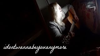 idontwannabeyouanymore by billie eilish | Cover thumbnail