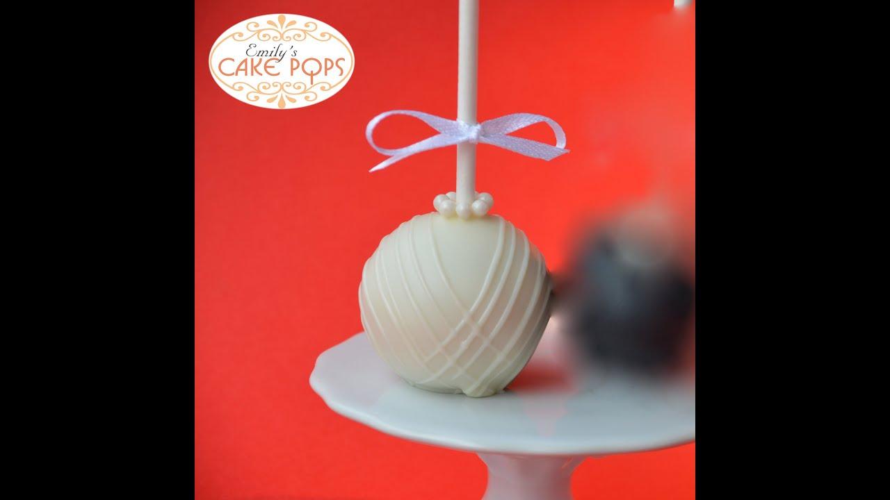 Wedding Cake Pops Teil 1 - YouTube