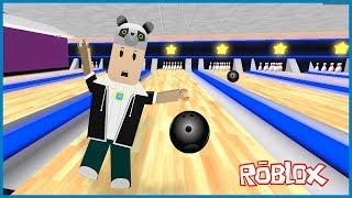 Bowling Salonundan Kaçış - Roblox Escape The Bowling Alley Obby!