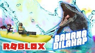BANANA BOAT TERCiDUK iKAN HiU | ROBLOX INDONESiA
