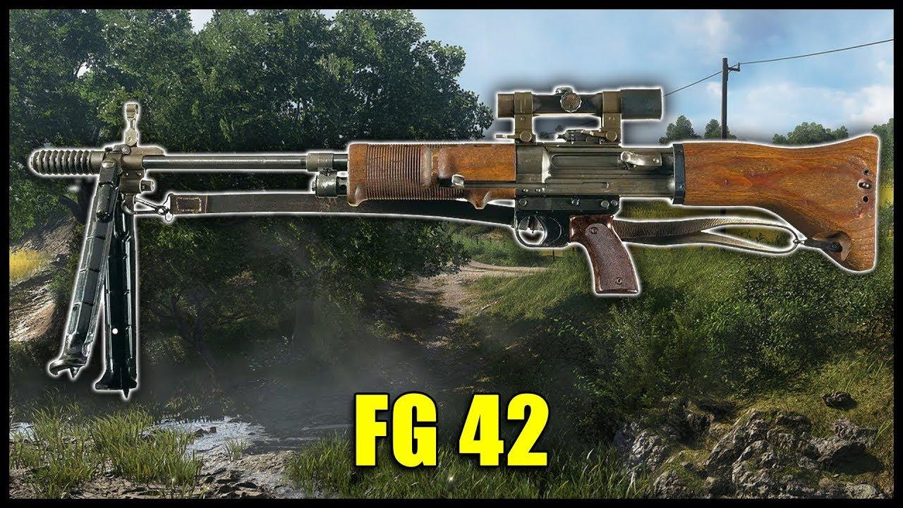 Fallschirmjägergewehr 42 im historischen Waffen Guide | BATTLEFIELD 5