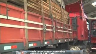Polícia localiza caminhões roubados em Cambé