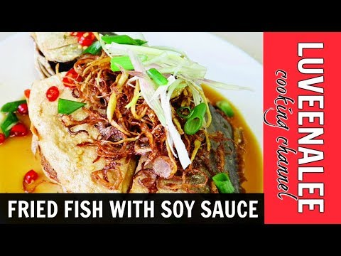 Fried Fish With Soy Sauce | Fried Fish With Soya Sauce| Fried Fish Chinese Recipe,