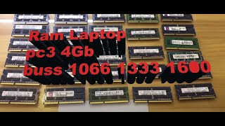 ram laptop 4gb buss 1333  ram laptop 4gb buss 1600  ram laptop th o m y