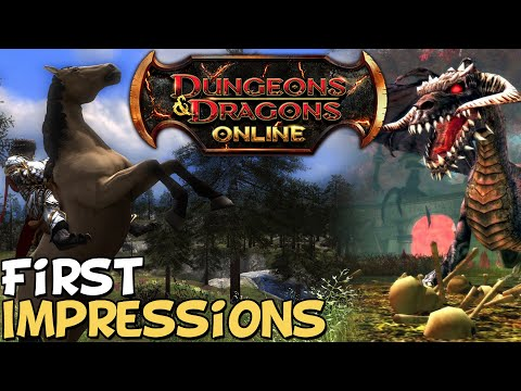 Dungeons & Dragons Online First Impressions
