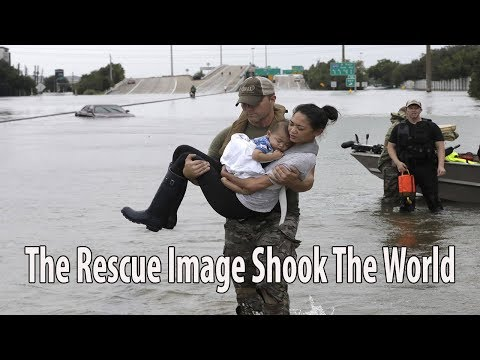 The rescue image shook the world