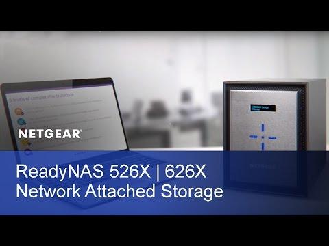 Dual Port 10-Gigabit Ethernet NAS   NETGEAR ReadyNAS 526X And 626X