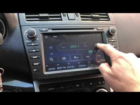 Mazda 6 Removal Radio BOSE System -Andorid 8 Octo Core